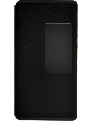 Кейс-книжка для Huawei P8 skinBOX. Цвет: черный