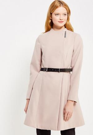 Пальто Dorothy Perkins. Цвет: розовый