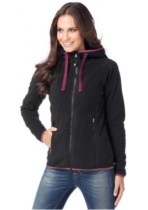 Флисовая куртка POLARINO. Цвет: бирюзовый
