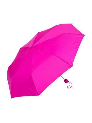 Зонт складной NUAGES. Цвет: розовый