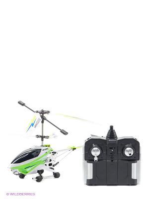 Р/У вертолет с гироскопом, 3 канала AULDEY. Цвет: зеленый