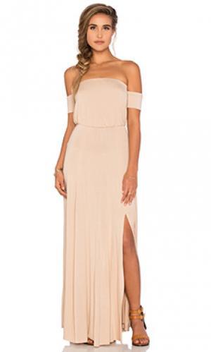 Платье margaret Clayton. Цвет: беж
