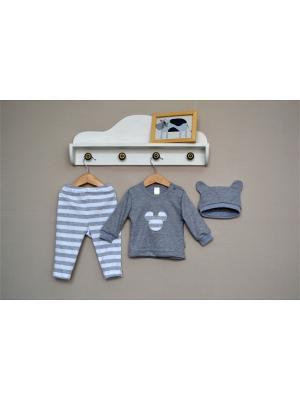 Комплект одежды Baby Boom. Цвет: светло-серый