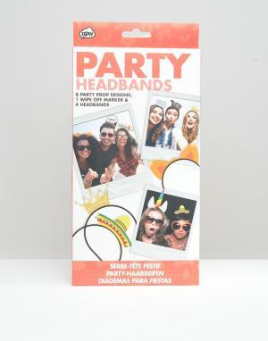 NPW Аксессуары для волос вечеринки. Цвет: мульти
