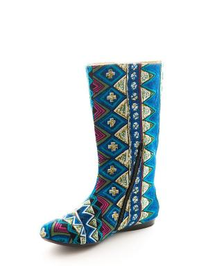 Сапоги AZ-ART. Цвет: бирюзовый, голубой