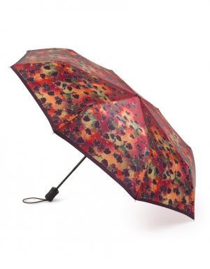 Зонт aвтомат Падающие листья Henry Backer. Цвет: multicolor