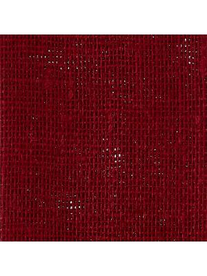 Лен.декоративная ткань. красный 48х48 см Альт. Цвет: красный