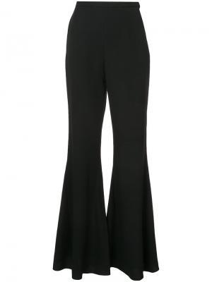 Bell bottom trousers Rosetta Getty. Цвет: чёрный