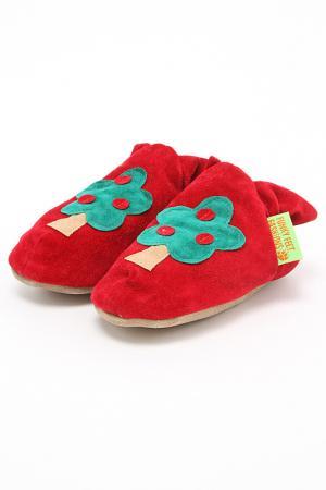 Туфли домашние Funky Feet Fashions™. Цвет: красный