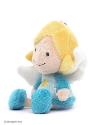 Мягкая игрушка Ангел-хранитель NICI. Цвет: бирюзовый, светло-бежевый, желтый, белый
