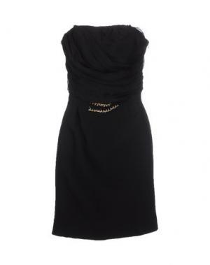 Короткое платье LIST. Цвет: черный
