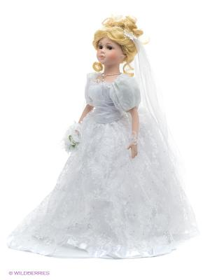 Кукла фарфоровая Сара, 18 Lisa Jane. Цвет: бледно-розовый, белый