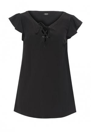 Блуза Rifle. Цвет: черный