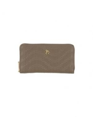 Бумажник EVA MINGE. Цвет: хаки