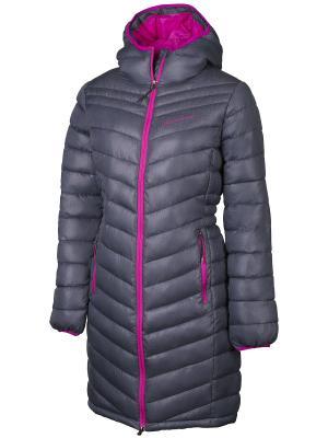 Пальто Alpine PRO. Цвет: темно-синий