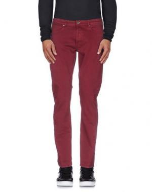 Джинсовые брюки MAURO GRIFONI. Цвет: пурпурный