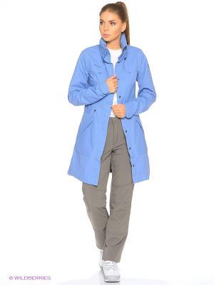 Дождевик Bergans. Цвет: серо-голубой