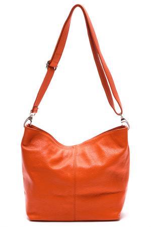 Сумка LUISA VANNINI. Цвет: оранжевый