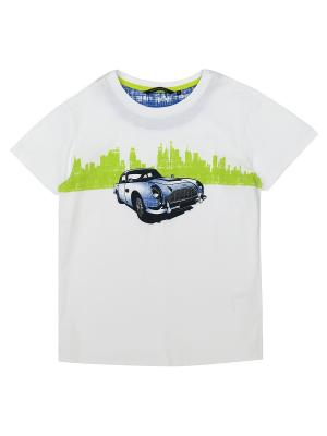 Футболка Aston Martin. Цвет: белый