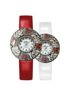 Часы Mikhail Moskvin. Цвет: серебристый, белый, красный