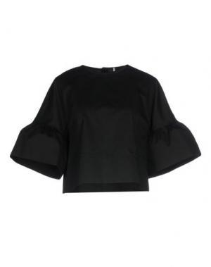 Блузка MAISON LAVINIATURRA. Цвет: черный