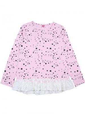 Джемпер для девочки Cherubino. Цвет: бледно-розовый