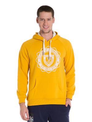 Худи U.S. Polo Assn.. Цвет: желтый