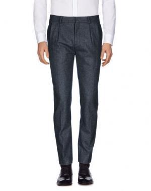 Повседневные брюки HARMONY Paris. Цвет: серый
