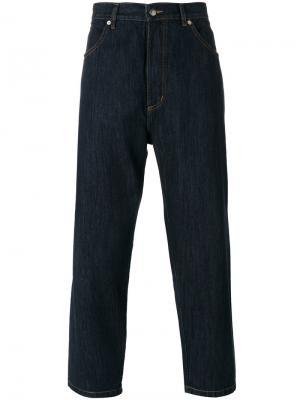 Denim Staprest trousers Société Anonyme. Цвет: синий