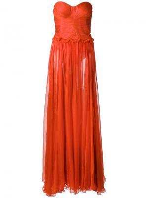 Ari gown Maria Lucia Hohan. Цвет: красный