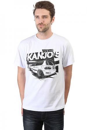 Футболка  Kanjos White Anteater. Цвет: белый