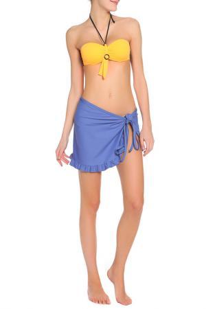 Парео Bikini Bar. Цвет: синий(511)