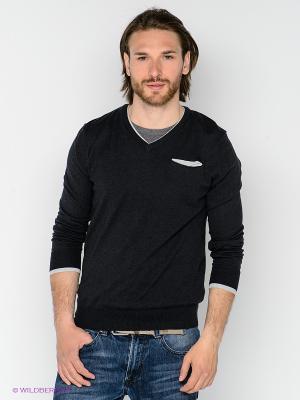 Пуловер Fred Mello. Цвет: черный