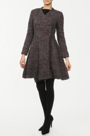 Пальто SALONI. Цвет: серый