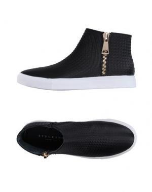 Высокие кеды и кроссовки STYLESNOB. Цвет: черный