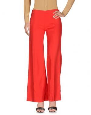 Повседневные брюки MUGLER. Цвет: красный