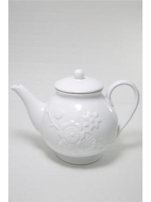 Чайник Mitya Veselkov. Цвет: белый