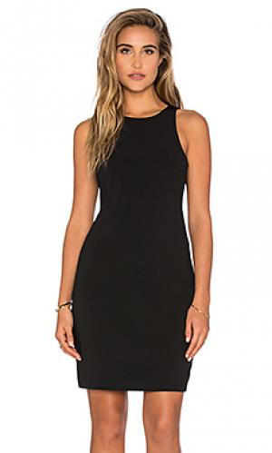 Платье с вырезами Bishop + Young. Цвет: черный