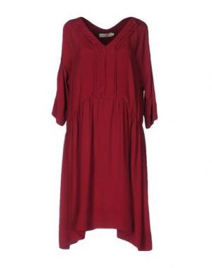 Короткое платье TROU AUX BICHES. Цвет: пурпурный