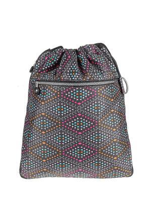 Рюкзак Happy Charms Family. Цвет: черный, голубой, оранжевый, розовый