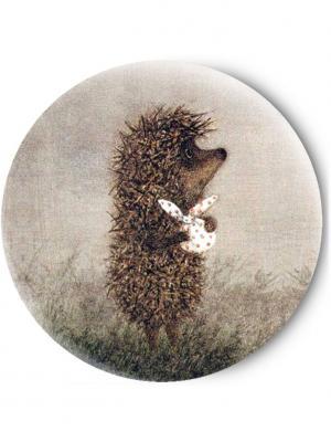 Зеркальце Tina Bolotina. Цвет: серый, коричневый