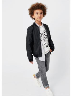Куртка - MATT Mango kids. Цвет: черный