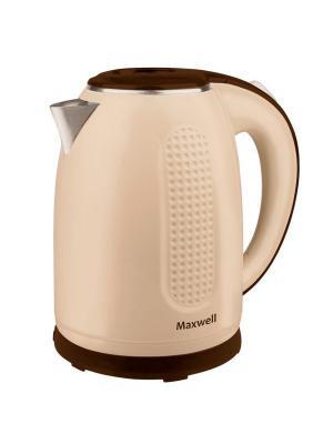 Чайник электрический Maxwell MW-1042(BN). Цвет: коричневый