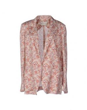 Пиджак AQUILANO-RIMONDI. Цвет: розовый