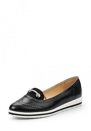 Туфли Catisa. Цвет: черный