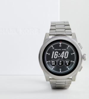 Michael Kors Серебристые смарт-часы Access MKT5025 Grayson. Цвет: серебряный