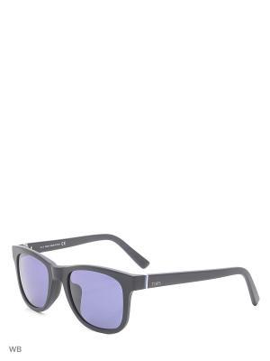Солнцезащитные очки TO 0164F 02V Tod's. Цвет: черный