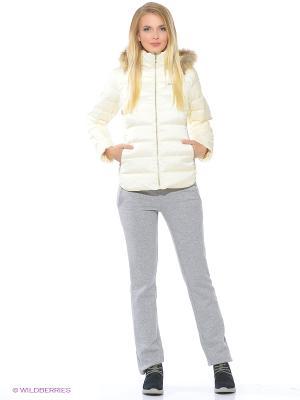 Куртка ANTA. Цвет: кремовый
