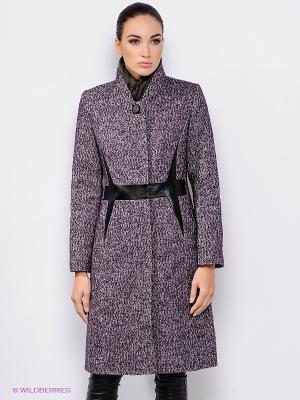 Пальто Malinardi. Цвет: фиолетовый