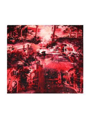Платок Magrom. Цвет: красный